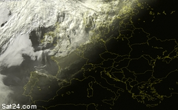 Weather situation in Europe